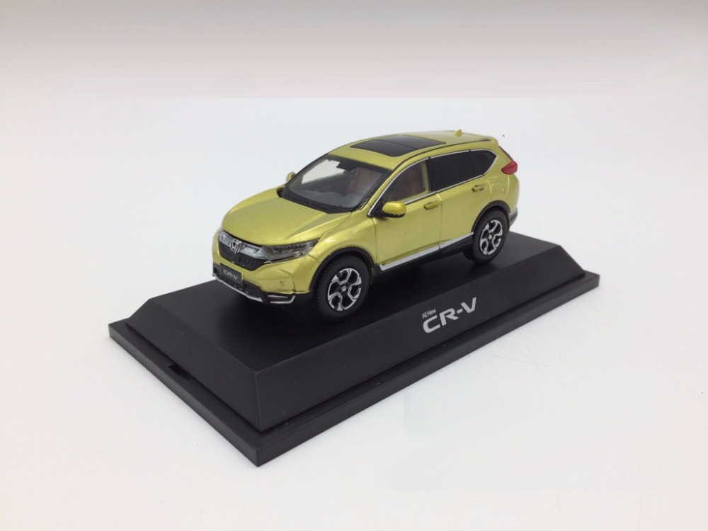 1:43 Diecast Model for Honda CR-V 2017 Green SUV Alloy Toy Car Miniature Collection Gifts CRV CR V (Alloy Toy Car, Diecast Scale Model Car, Collectible Model Car, Miniature Collection Die-cast Toy Vehicles Gifts)