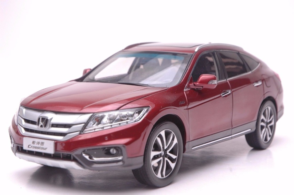 1:18 Diecast Model for Honda Crosstour 2014 Red Sportback Alloy Toy Car Miniature Collection Gifts (Alloy Toy Car, Diecast Scale Model Car, Collectible Model Car, Miniature Collection Die-cast Toy Vehicles Gifts)