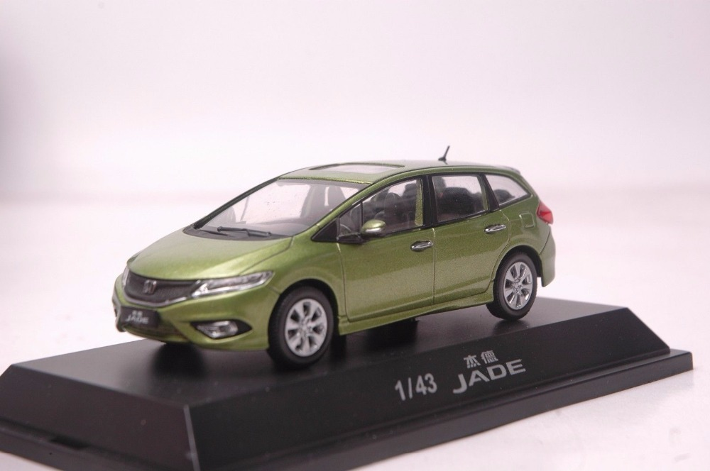 1:43-Diecast-Model-for-Honda-Jade-2015-Green-MPV-Alloy-Toy-Car-Miniature-Collection-Gifts-Jazz-Fit-(Alloy-Toy-Car,-Diecast-Scale-Model-Car,-Collectible-Model-Car,-Miniature-Collection-Die-cast-Toy-Vehicles-Gifts)