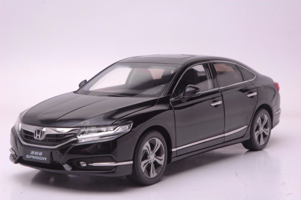 1:18 Diecast Model for Honda Spirior Accord Europe Black Sedan Alloy Toy Car Miniature Collection Gifts Van (Alloy Toy Car, Diecast Scale Model Car, Collectible Model Car, Miniature Collection Die-cast Toy Vehicles Gifts)