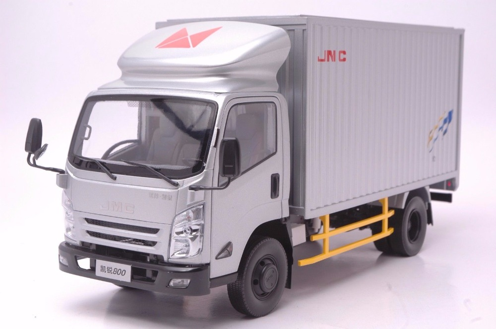 1:18 Diecast Model for JMC Kairui N800 Silver Truck Alloy Toy Car Miniature Collection Gifts China Brand (Alloy Toy Car, Diecast Scale Model Car, Collectible Model Car, Miniature Collection Die-cast Toy Vehicles Gifts)