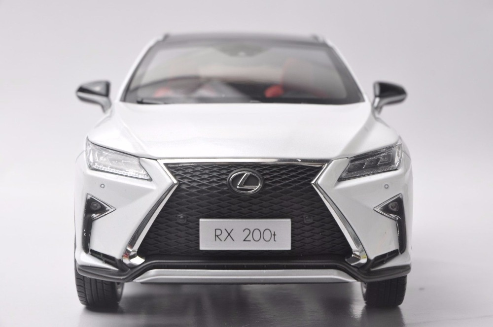 1:18 Diecast Model for Lexus RX 200t 2016 SUV Alloy Toy Car Miniature Collection Gift RX200t RX200 Toyota (Alloy Toy Car, Diecast Scale Model Car, Collectible Model Car, Miniature Collection Die-cast Toy Vehicles Gifts)