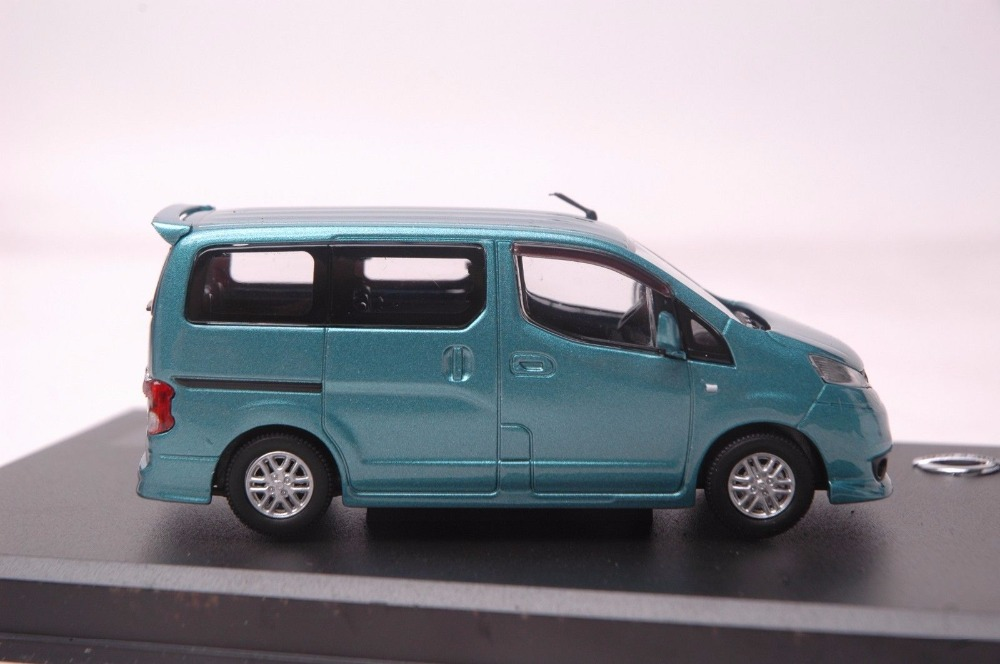 1:43 Diecast Model for NISSAN NV200 Blue MPV Rare Alloy Toy Car Miniature Collection Gifts NV Van (Alloy Toy Car, Diecast Scale Model Car, Collectible Model Car, Miniature Collection Die-cast Toy Vehicles Gifts)