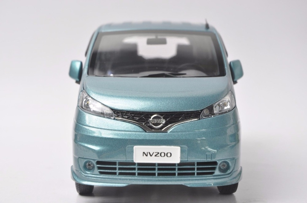 1:18 Diecast Model for Nissan All New NV200 Vanette Blue MPV Alloy Toy Car Miniature Collection Gifts (Alloy Toy Car, Diecast Scale Model Car, Collectible Model Car, Miniature Collection Die-cast Toy Vehicles Gifts)