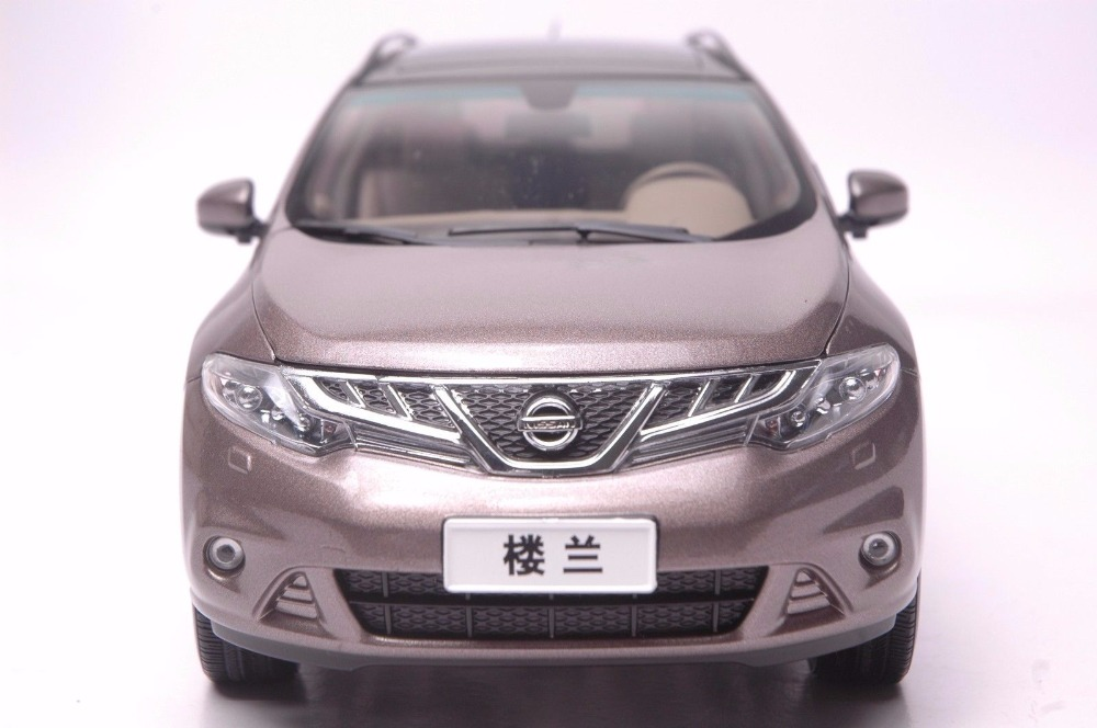 1:18 Diecast Model for Nissan Murano 2011 Brown SUV Alloy Toy Car Miniature Collection Gift  (Alloy Toy Car, Diecast Scale Model Car, Collectible Model Car, Miniature Collection Die-cast Toy Vehicles Gifts)