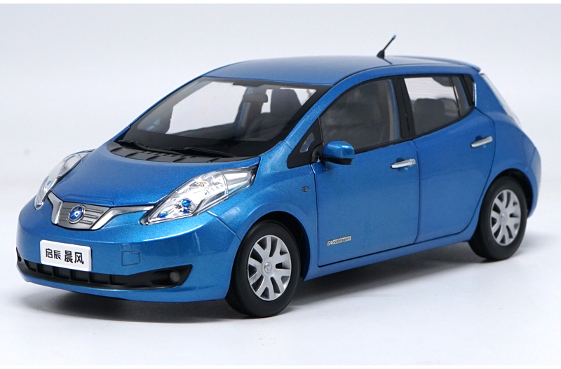 1:18-Diecast-Model-for-Nissan-Venucia-LEAF-Blue-Electric-Vehicle-Alloy-Toy-Car-Miniature-Collection-Gifts-(Alloy-Toy-Car,-Diecast-Scale-Model-Car,-Collectible-Model-Car,-Miniature-Collection-Die-cast-Toy-Vehicles-Gifts)