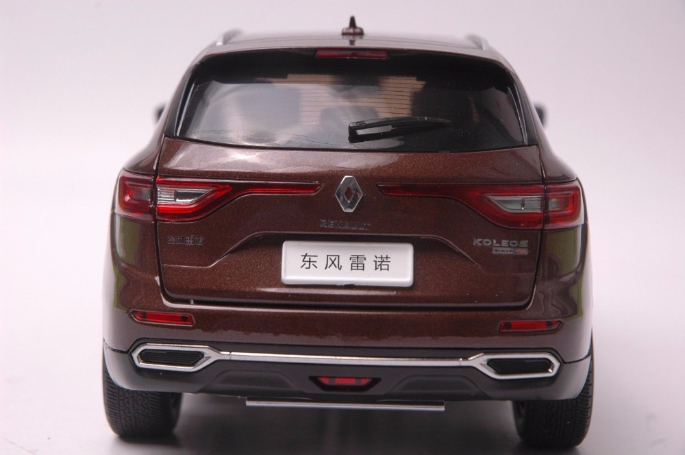 1:18 Diecast Model for Renault Koleos 2017 Brown SUV Alloy Toy Car Miniature Collection Gift (Alloy Toy Car, Diecast Scale Model Car, Collectible Model Car, Miniature Collection Die-cast Toy Vehicles Gifts)