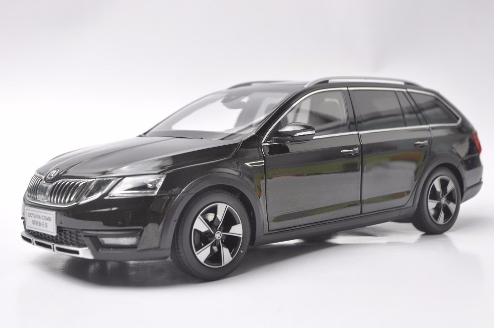 1:18 Diecast Model for Skoda Octavia Combi 2017 Brown Alloy Toy Car Miniature Collection Gifts (Alloy Toy Car, Diecast Scale Model Car, Collectible Model Car, Miniature Collection Die-cast Toy Vehicles Gifts)