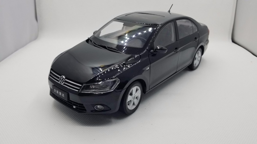 1:18 Diecast Model for Volkswagen VW Jetta 2102 Black Alloy Toy Car Miniature Collection Gifts (Alloy Toy Car, Diecast Scale Model Car, Collectible Model Car, Miniature Collection Die-cast Toy Vehicles Gifts)
