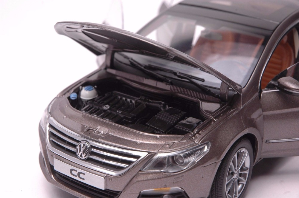 1:18 Diecast Model for Volkswagen VW Magotan CC Gold Alloy Toy Car Miniature Collection Gifts Passat (Alloy Toy Car, Diecast Scale Model Car, Collectible Model Car, Miniature Collection Die-cast Toy Vehicles Gifts)