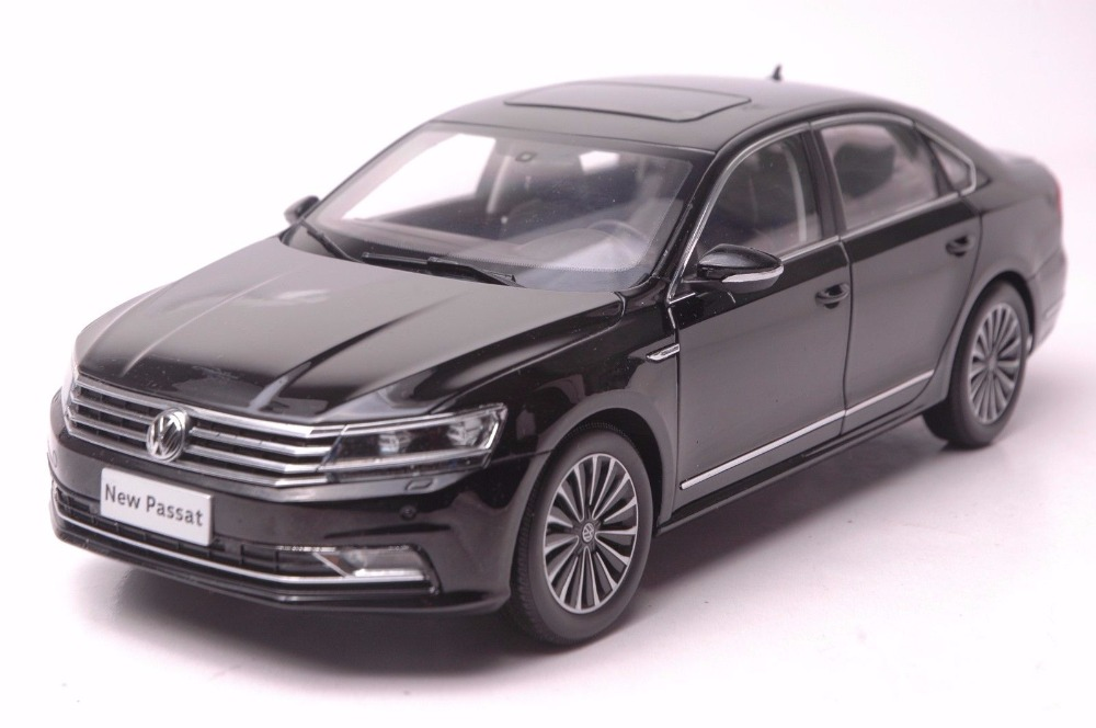 1:18 Diecast Model for Volkswagen VW Passat 2016 Black Alloy Toy Car Miniature Collection Gifts (Alloy Toy Car, Diecast Scale Model Car, Collectible Model Car, Miniature Collection Die-cast Toy Vehicles Gifts)