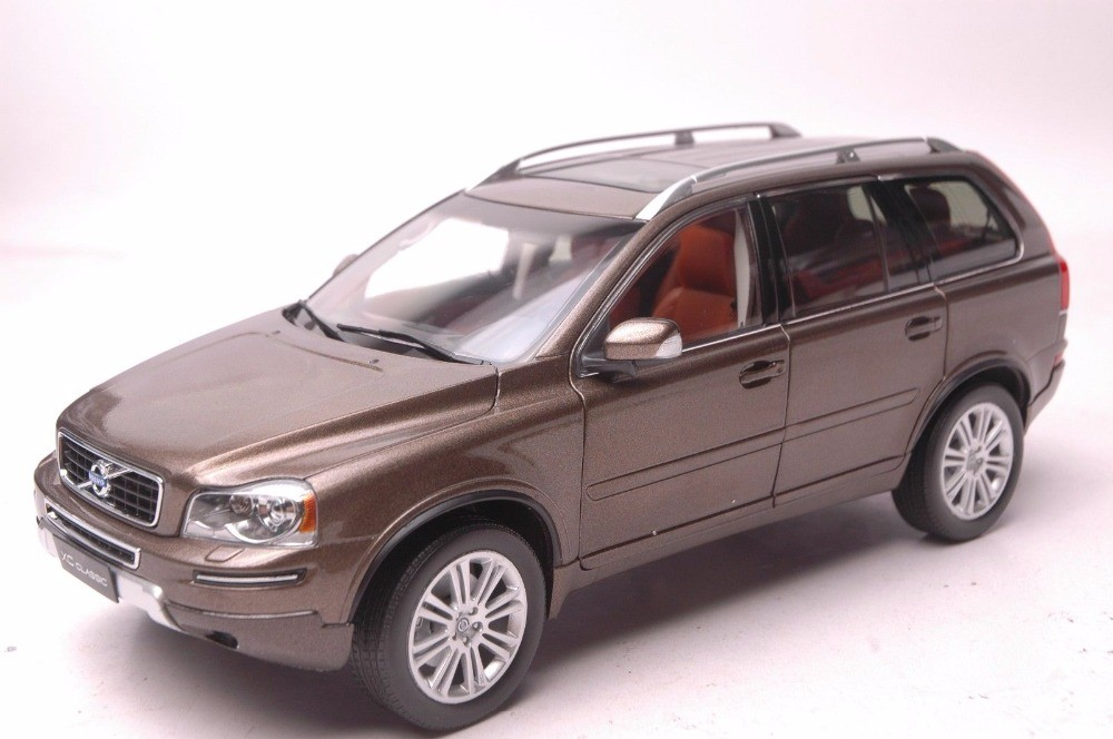 1:18 Diecast Model for Volvo XC90 XC Classic Brown SUV Alloy Toy Car Miniature Collection Gifts XC 90 (Alloy Toy Car, Diecast Scale Model Car, Collectible Model Car, Miniature Collection Die-cast Toy Vehicles Gifts)