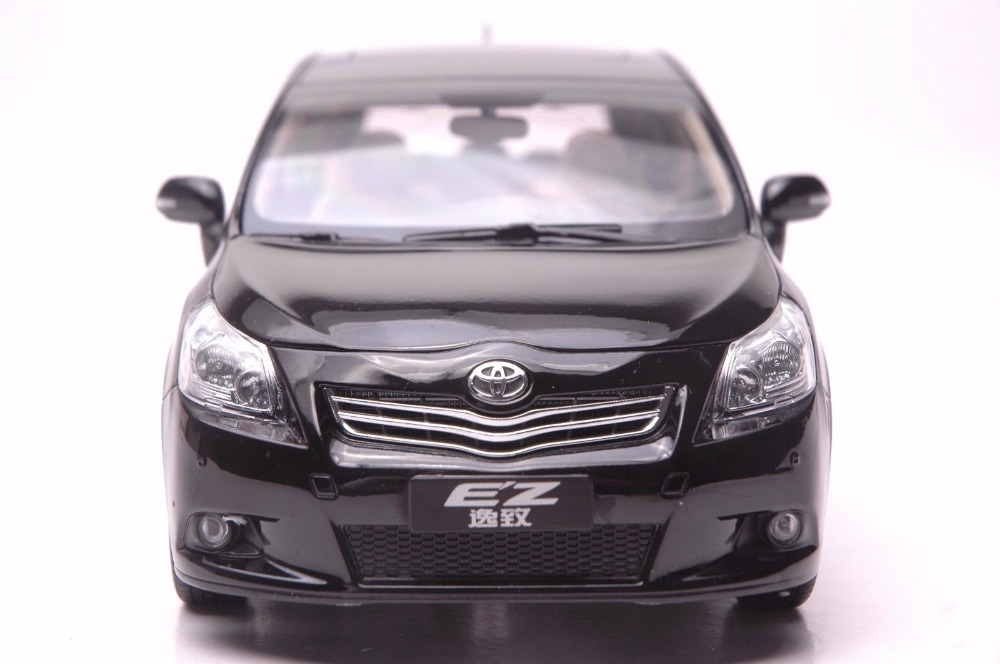 1:18 Diecast Model for Toyota E'Z Verso Black Alloy Toy Car Miniature Collection Gift EZ (Alloy Toy Car, Diecast Scale Model Car, Collectible Model Car, Miniature Collection Die cast Toy Vehicles Gifts)
