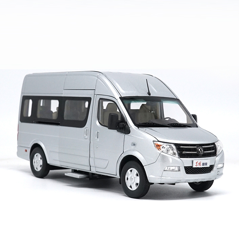 1/24 Dongfeng DFAC Yufeng MPV Alloy Toy Car, Diecast Scale Model Car, Collectible Model Car, Miniature Collection Die-cast Toy Vehicles Gifts