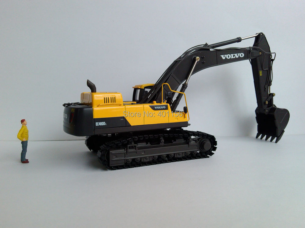 1:50 EC480D EXCAVATOR toy, (Scale Model Truck, Construction vehicles Scale Model, Alloy Toy Car, Diecast Scale Model Car, Collectible Model Car, Miniature Collection Die cast Toy Vehicles Gifts).