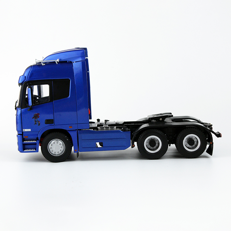 1/24 Foton Daimler Auman GTL Truck Tractor Trailer Alloy Toy Car, Diecast Scale Model Car, Collectible Model Car, Miniature Collection Die-cast Toy Vehicles Gifts