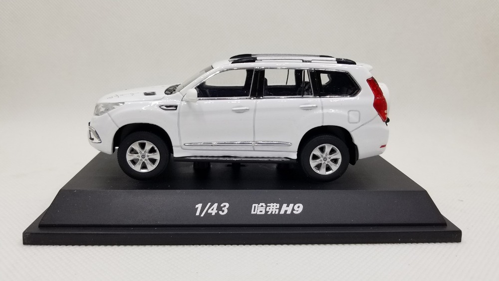 1/43 Great Wall Haval H9 SUV Alloy Toy Car, Diecast Scale Model Car, Collectible Model Car, Miniature Collection Die-cast Toy Vehicles Gifts