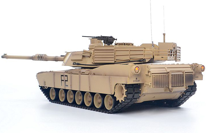 HENG LONG 3918 M1A2 Abrams RC Tank. (RC Tanks & Ready to Run)