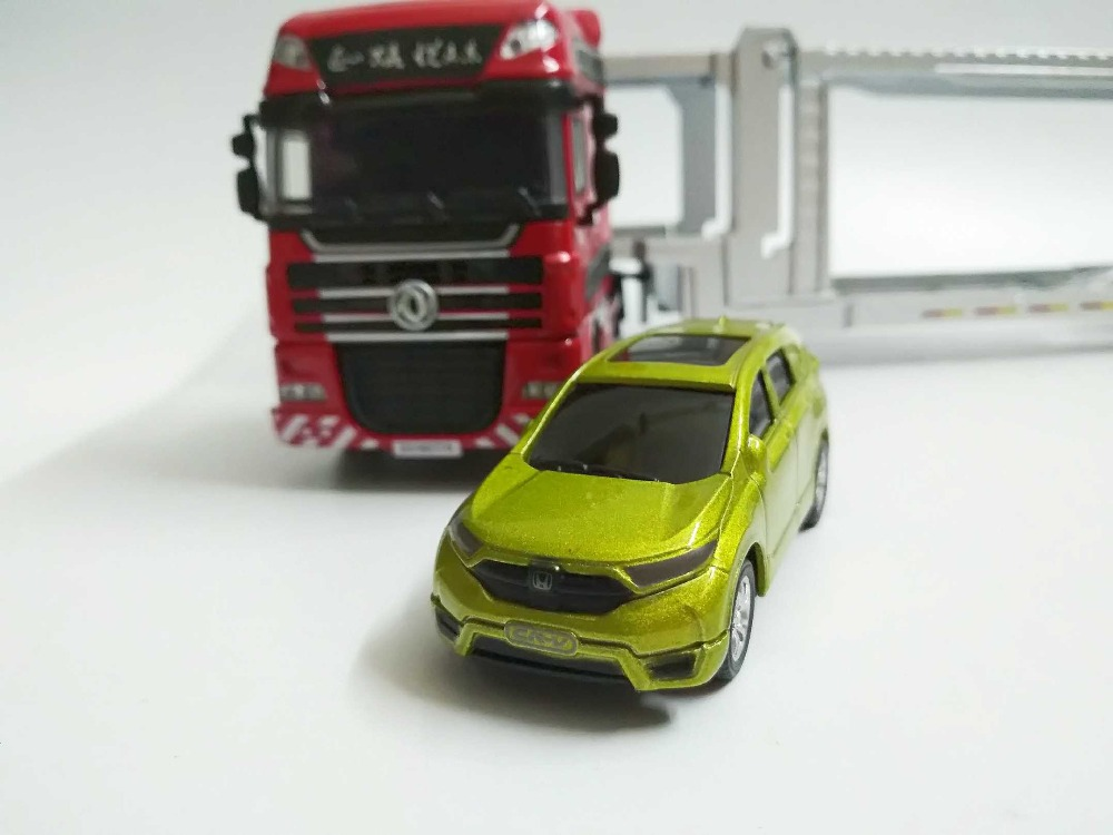 1/50 Set of 9 Honda 15th Anniversary (Dongfeng truck, CRV, XRV, URV, CIVIC, Jade, Spirior etc) Alloy Toy Car, Diecast Scale Model Car, Collectible Model Car, Miniature Collection Die-cast Toy Vehicles Gifts