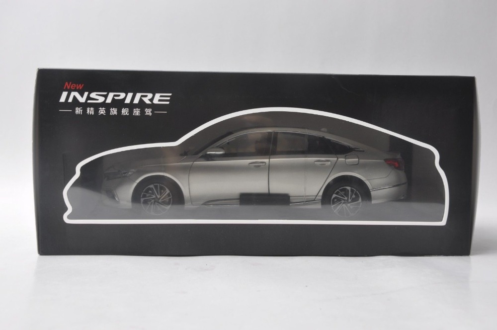 1/18 Honda Inspire Sport Turbo 2018 Gold New Sedan Alloy Toy Car, Diecast Scale Model Car, Collectible Model Car, Miniature Collection Die-cast Toy Vehicles Gifts