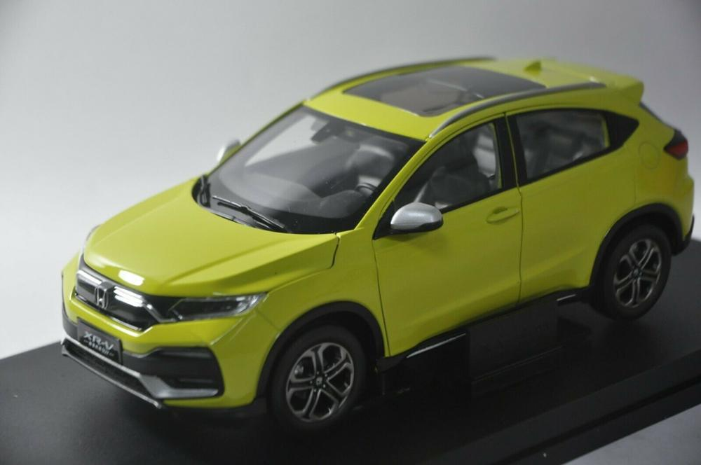 1/18 Honda XRV XR-V 2019 Green SUV Alloy Toy Car, Diecast Scale Model Car, Collectible Model Car, Miniature Collection Die-cast Toy Vehicles Gifts