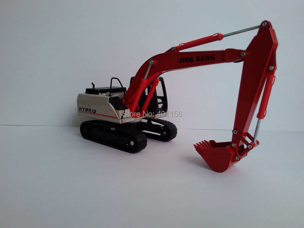 1:50 Hybrid SH200 Hydraulic Excavator toy, (Scale Model Truck, Construction vehicles Scale Model, Alloy Toy Car, Diecast Scale Model Car, Collectible Model Car, Miniature Collection Die cast Toy Vehicles Gifts).