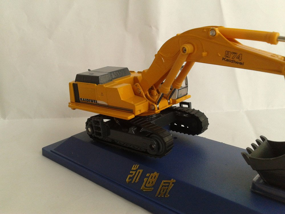 1:50 KAIDIWEI 974 Excavator toy, (Scale Model Truck, Construction vehicles Scale Model, Alloy Toy Car, Diecast Scale Model Car, Collectible Model Car, Miniature Collection Die cast Toy Vehicles Gifts).