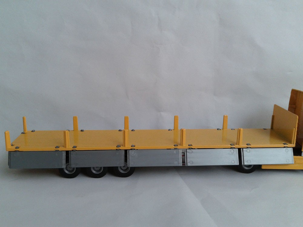 1:50 KAIDIWEI Tent Platform Transporter container toy, (Scale Model Truck, Construction vehicles Scale Model, Alloy Toy Car, Diecast Scale Model Car, Collectible Model Car, Miniature Collection Die cast Toy Vehicles Gifts).
