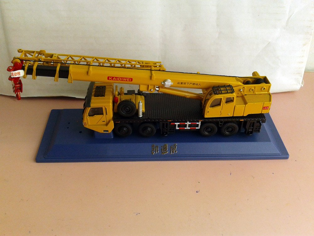 1:55 KAIDIWEI Truck Crane toy, (Scale Model Truck, Construction vehicles Scale Model, Alloy Toy Car, Diecast Scale Model Car, Collectible Model Car, Miniature Collection Die cast Toy Vehicles Gifts).