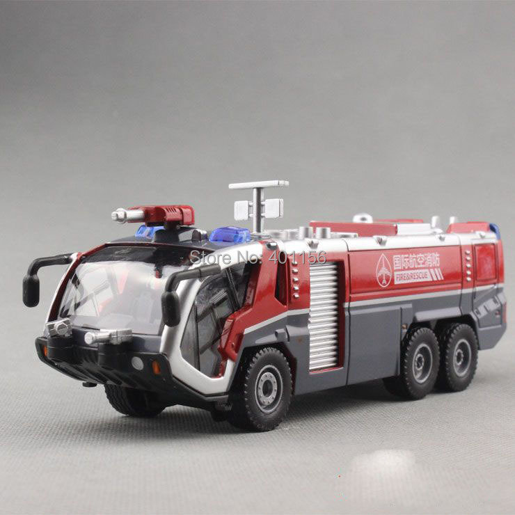 1:50 KAIDIWEI airfield water fire Truck Toy, (Scale Model Truck, Construction vehicles Scale Model, Alloy Toy Car, Diecast Scale Model Car, Collectible Model Car, Miniature Collection Die cast Toy Vehicles Gifts).