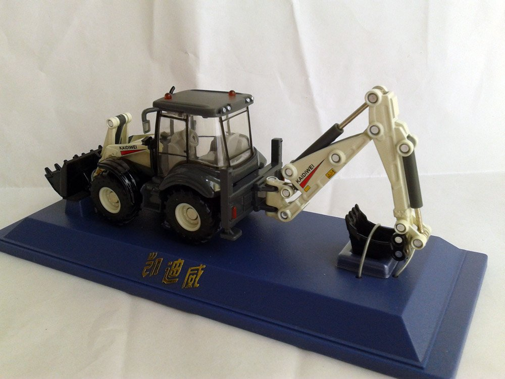 1:50 KAIDIWEI backhooe loader toy, (Scale Model Truck, Construction vehicles Scale Model, Alloy Toy Car, Diecast Scale Model Car, Collectible Model Car, Miniature Collection Die cast Toy Vehicles Gifts).