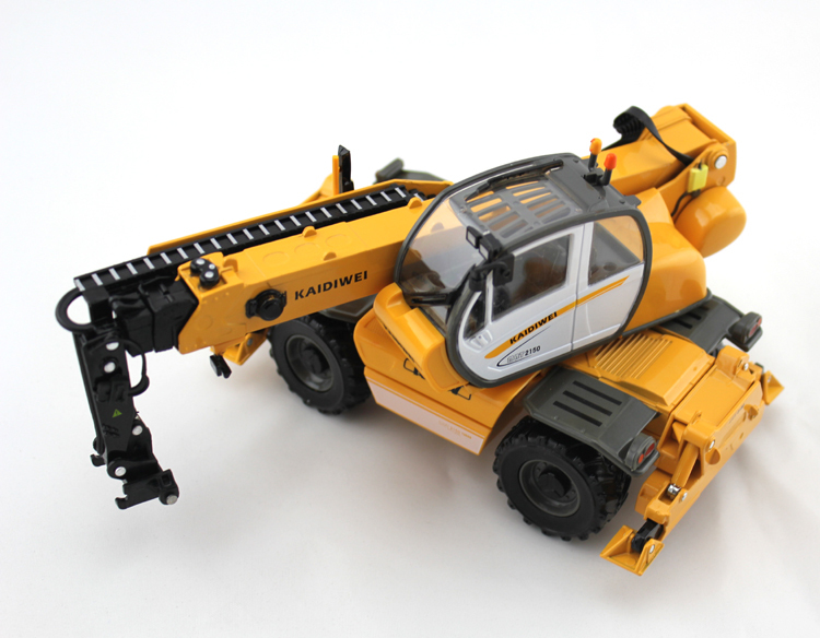1:50 KAIDIWEI material transporter truck crane Toy, (Scale Model Truck, Construction vehicles Scale Model, Alloy Toy Car, Diecast Scale Model Car, Collectible Model Car, Miniature Collection Die cast Toy Vehicles Gifts).