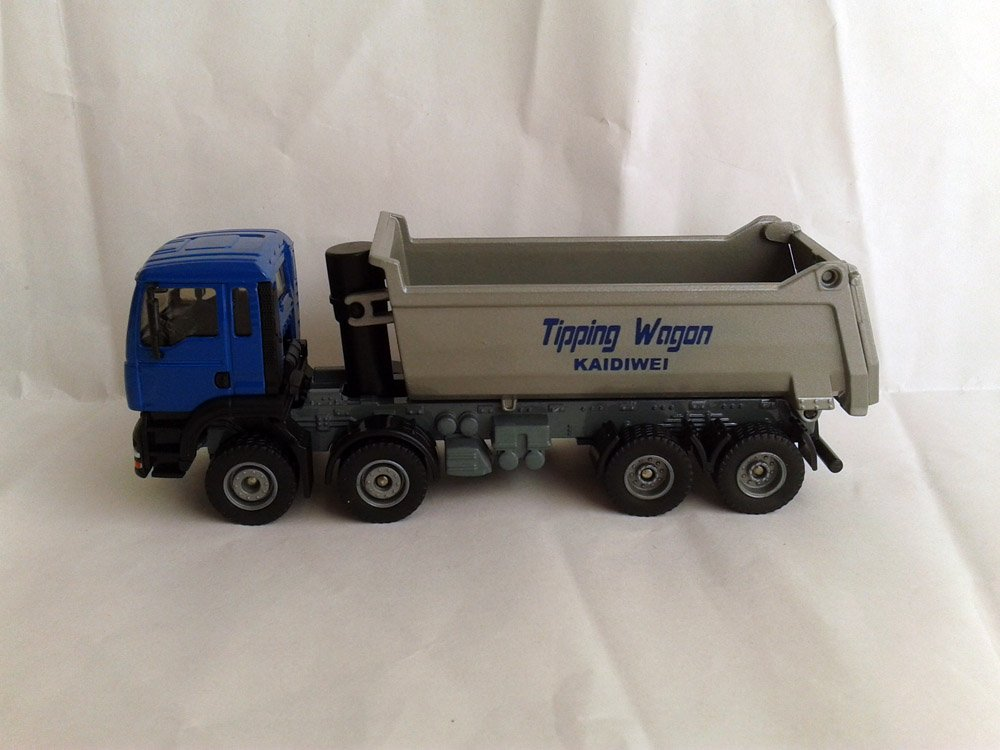 1:50 KAIDIWEI tipping wagon truck toy, (Scale Model Truck, Construction vehicles Scale Model, Alloy Toy Car, Diecast Scale Model Car, Collectible Model Car, Miniature Collection Die cast Toy Vehicles Gifts).