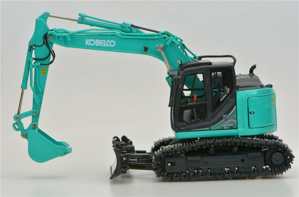 1:50 KOBELCO ED160BR-5 Hydraulic Excavator toy, (Scale Model Truck, Construction vehicles Scale Model, Alloy Toy Car, Diecast Scale Model Car, Collectible Model Car, Miniature Collection Die cast Toy Vehicles Gifts).
