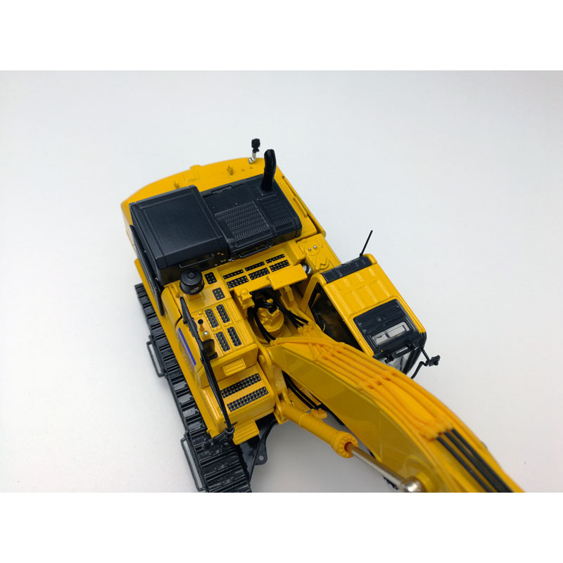1:43 Komatsu PC500LC-10M0 Hydraulic Excavator Model with Metal Track Toys, (Scale Model Truck, Construction vehicles Scale Model, Alloy Toy Car, Diecast Scale Model Car, Collectible Model Car, Miniature Collection Die cast Toy Vehicles Gifts).