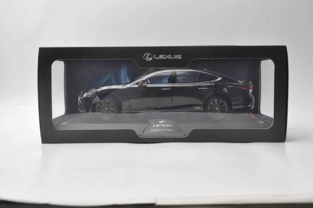 1/18 Lexus LS500h 2018 Black Ls 500 LS500 LC500 Alloy Toy Car, Diecast Scale Model Car, Collectible Model Car, Miniature Collection Die-cast Toy Vehicles Gifts
