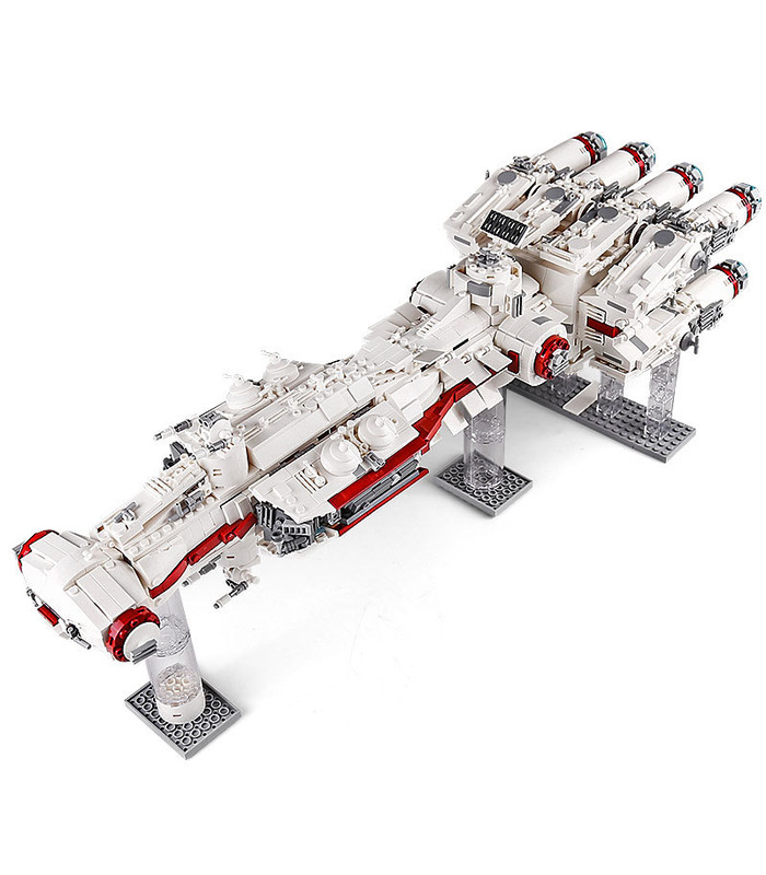 MOULD KING 21003 Tantive IV Mortesv's CR90 Corellian Corvette Blockade Runner Building Blocks Toy Set (Star Wars MOC 10308 Compatible Building Blocks Bricks)