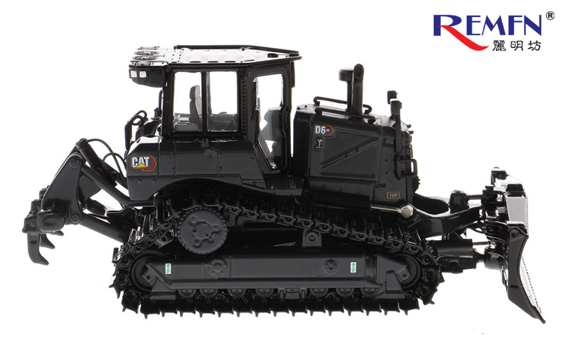 1/50 Scale Black Medium Dozers D6 XE High Drive Electric Drive Dozer Scale Model, D6 XE TRACK-TYPE TRACTOR Die-cast Model.