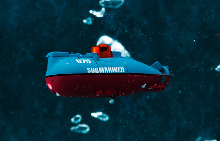 Mini RC Submarine Toy For anniversary gifts, secret santa, personalised gifts, valentines day gifts