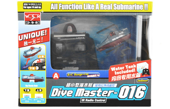 Mini RC Submarine Toy For christmas gift ideas, gifts for her, valentines day gifts for him, gifts for mom