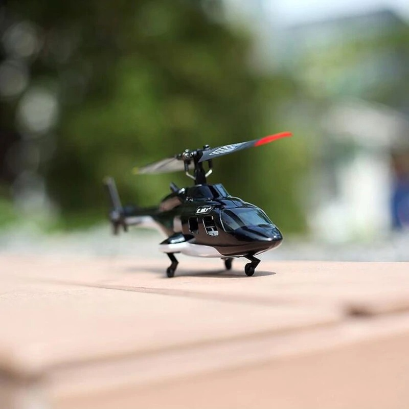 High Power motor 200M RC Distance Mini Remote Control RC Helicopter 2.4G six Gyro helicopter with single propeller high quality