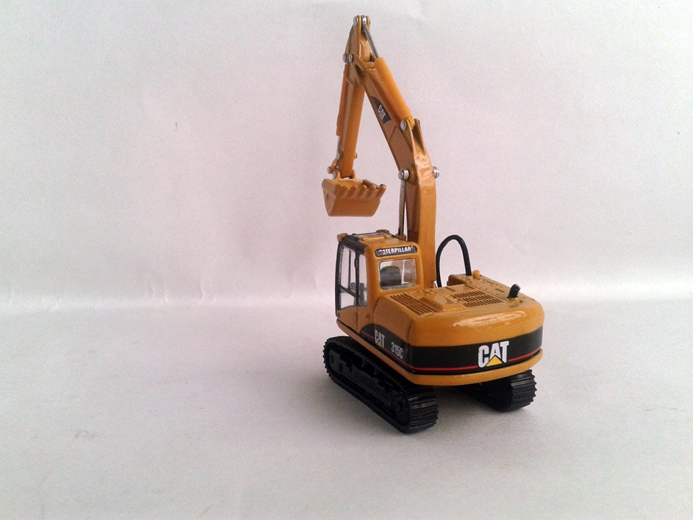 1:87 N-55107 Cat 315C Hydraulic Excavator, (Scale Model Truck, Construction vehicles Scale Model, Alloy Toy Car, Diecast Scale Model Car, Collectible Model Car, Miniature Collection Die cast Toy Vehicles Gifts).
