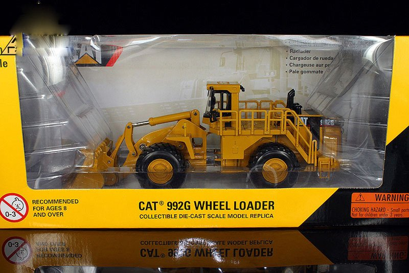 1:50 N-55115 CAT992G Wheel Loader toy, (Scale Model Truck, Construction vehicles Scale Model, Alloy Toy Car, Diecast Scale Model Car, Collectible Model Car, Miniature Collection Die cast Toy Vehicles Gifts).