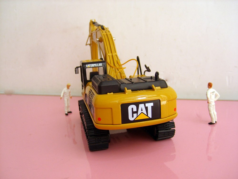 1:50 N-55241 CAT336D Hydraulic Excavator toy, (Scale Model Truck, Construction vehicles Scale Model, Alloy Toy Car, Diecast Scale Model Car, Collectible Model Car, Miniature Collection Die cast Toy Vehicles Gifts).