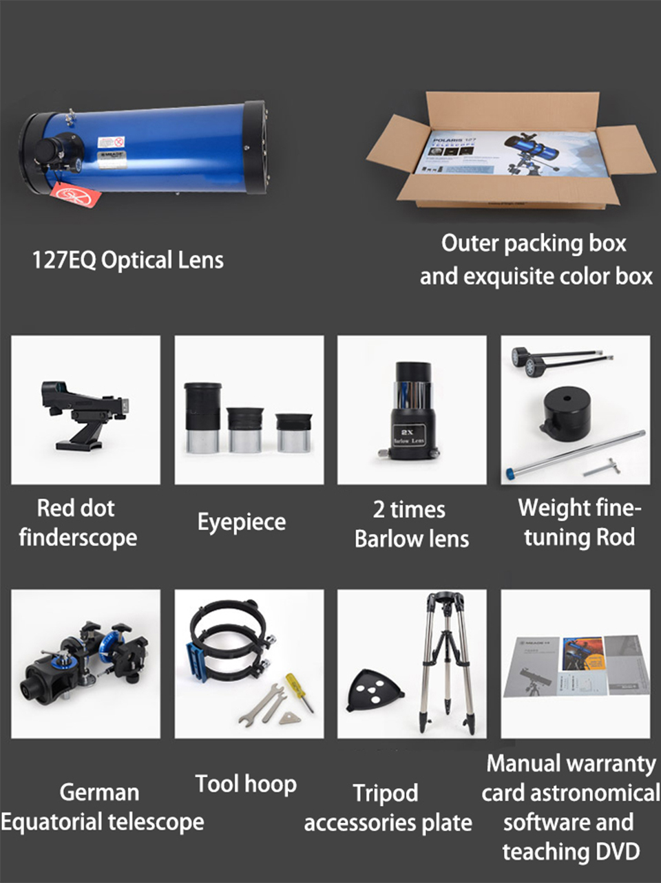 Professional Astronomical Telescope High-Power HD Night Vision Deep Space Star View Telescope Powerful Monocular with Tripod, (Telescope For Sale, Telescope For Adults, Telescope For Kids, Telescope For Beginners, Best Outdoor Telescope).