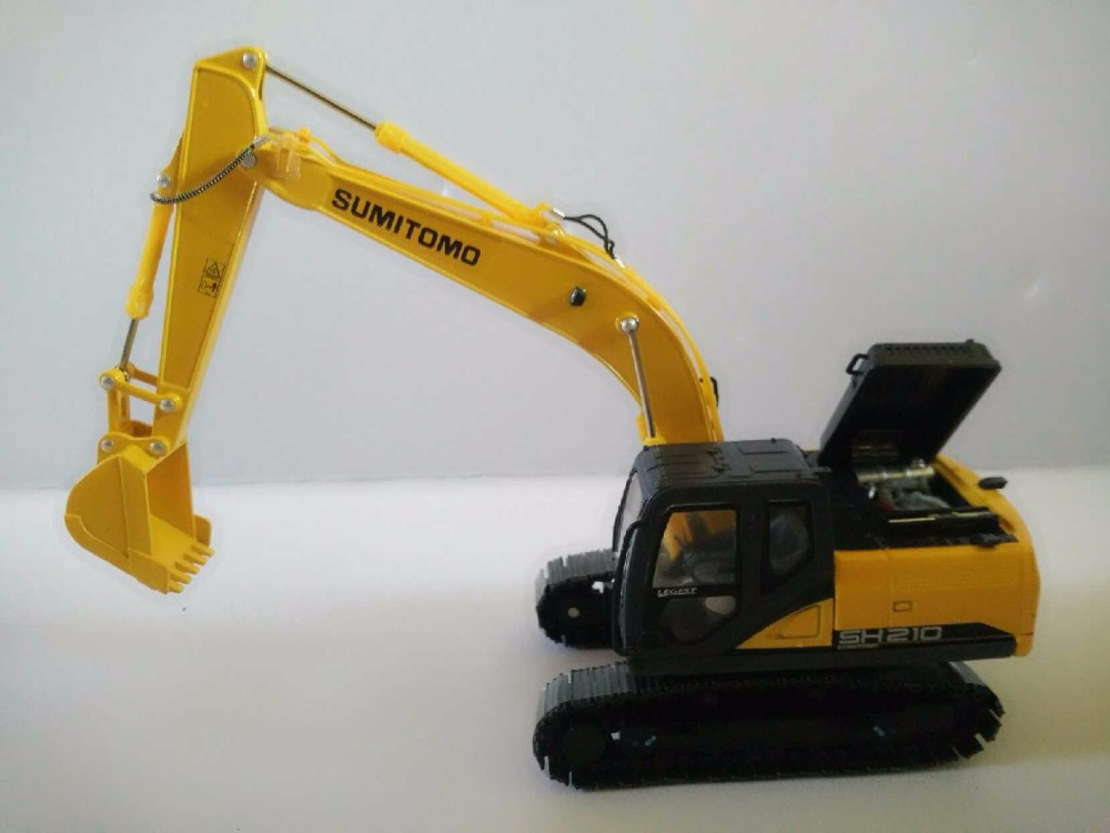 1:50 SUMITOMO SH210-6 Excavator toys, (Scale Model Truck, Construction vehicles Scale Model, Alloy Toy Car, Diecast Scale Model Car, Collectible Model Car, Miniature Collection Die cast Toy Vehicles Gifts).