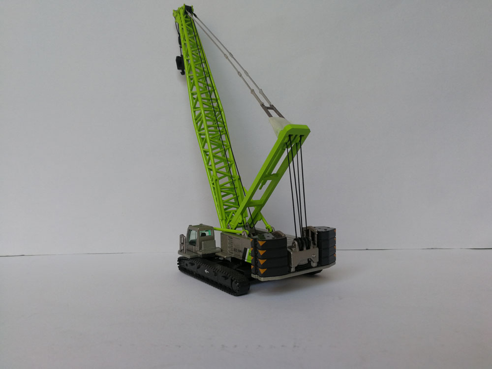 1/120 Scale Zoomlion ZCC1300 Crawler Cranes Diecast Model Collection toy, (Scale Model Truck, Construction vehicles Scale Model, Alloy Toy Car, Diecast Scale Model Car, Collectible Model Car, Miniature Collection Die cast Toy Vehicles Gifts).