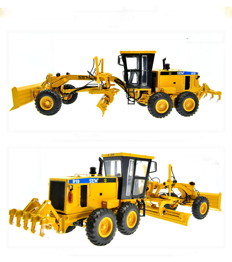 1:35 Shangong SEM919 Grander Toys, (Scale Model Truck, Construction vehicles Scale Model, Alloy Toy Car, Diecast Scale Model Car, Collectible Model Car, Miniature Collection Die cast Toy Vehicles Gifts).