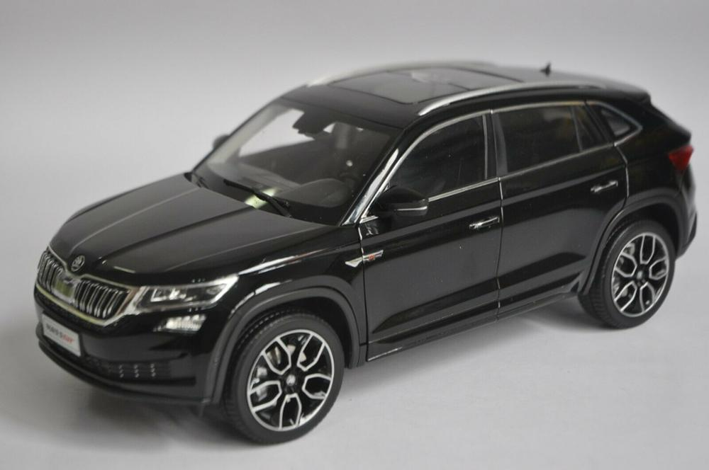1/18 Skoda Kodiaq GT 2018 Black SUV Alloy Toy Car, Diecast Scale Model Car, Collectible Model Car, Miniature Collection Die-cast Toy Vehicles Gifts
