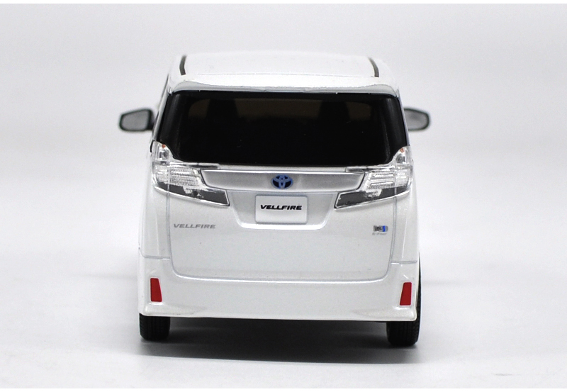 1/30 Toyota Alphard VELLFIRE White MPV Alloy Toy Car, Diecast Scale Model Car, Collectible Model Car, Miniature Collection Die-cast Toy Vehicles Gifts